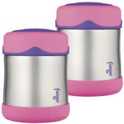 Thermos Foogo Leak-Proof Stainless Steel Food Jar, 210ml - 2 Pack