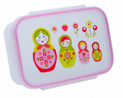 SugarBooger Good Lunch Box Divided Container, Matryoshka Doll