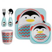 Skip Hop Zoo Winter Feeding Set, Penguin