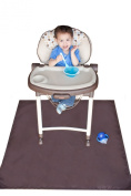 Tarpy Highchair Splat Mat, Activity & Cleanup Canvas
