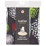 Kushies Baby Splash Mat, Mod Black