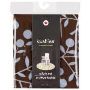 Kushies Baby Splash Mat, Leaf BB Print