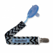 Booginhead PaciGrip Pacifier Holder - Seattle Chevron