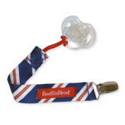 Booginhead PaciGrip Pacifier Holder - Blue Tie