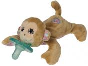 Wubbanub Maddie Wubbanub Plush Pacifier, Monkey