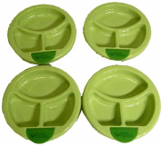 Green Sprouts Warming Plate,3-12m,Sage-4 Pack