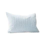 Auggie Quilted Velvet Pillow Cover, Jasper