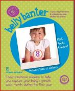 Belly Banter BABY UNISEX Onesie Stickers Includes 12 month stickers plus 3 BONUS statement stickers