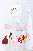 Pink Lining- PL Child Hop Skip Jump To Bed Musical Cot Mobile