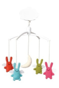 Trousselier Musical Mobile with Rabbit Angels
