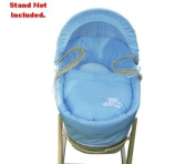 Kinder Valley Tiny Ted Moses Basket Cream