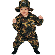 Dress up America Military Officer Costume Set for Baby