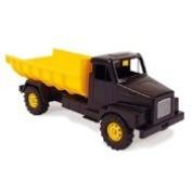 DANTOY TIPPER DUMPER TRUCK 70cm - yellow, black tipper lorry
