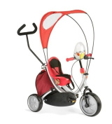 italtrike tricycle oko plus grey cherry