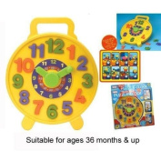 Teach Time Puzzle Clock by A to Z