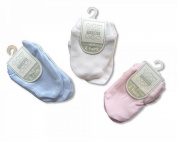 2 Pack Baby Scratch Mittens Blue - 100% Cotton