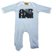 Cream Baby Grow Blue 3-6 months
