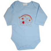 F.S.Confeccoes,Lda-Portugal - Baby Romper Boys long-sleeved, light blue