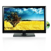 Axess 34cm LED Full HDTV, Includes AC/DC TV, DVD Player, HDMI/SD/USB Inputs, TVD1801-13