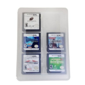 HDE Clear 24-in-1 Game Card Cartridge Case Holder Compatible with Nintendo 3DS