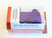 HPP Inc. 1 X Double Shock 6 Axis Wireless Bluetooth Sony PS3 Game Controller - PURPLE