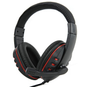 AplusElek Stereo Gaming Headset Headphone with Microphone for PS3/ Xbox360/ PC
