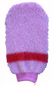 MAGIT Synthetic Bath Mitt, Bicoloured