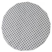 JODA White and Black Polka Dot Shower Cap