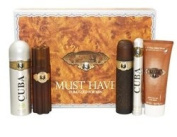 Must Have Gold 5 Piece' Set - Aftershaves, Body Spray & Shower Gel
