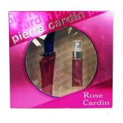 Pierre Cardin Rose De Eau De Toilette 30ml & Purse Spray 15ml Gift Set For Her
