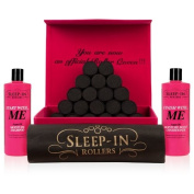 Sleep-In Rollers Luxury Hair Care Gift Set Black