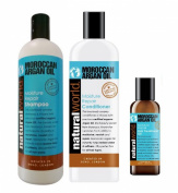 Natural World MOROCCAN ARGAN OIL Shampoo Conditioner & Oil