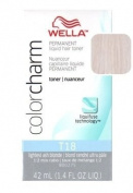 Wella Colour Charm Toner - #T18 - Lightest Ash Blonde 41 ml