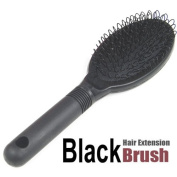 Tinxs Soft Bristle Hairbrush Brush Loop Hair Extension for Silicone Micro Ring Fusion Bond