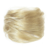 American Dream Small Size Human Hair Bun, Sahara Blonde Number 16
