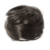 American Dream Petite Size Human Hair Bun, Natural Black Number 1B