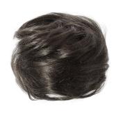 American Dream Medium Human Hair Bun, Natural Black Number 1B