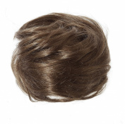 American Dream Medium Human Hair Bun, Chestnut Brown Number 4