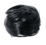 American Dream Small Size Human Hair Bun, Jet Black Number 1