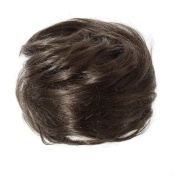 American Dream Petite Size Human Hair Bun, Dark Brown Number 2