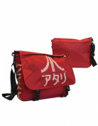 Atari Bag, Japanese Logo Messenger Bag, Red