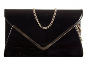 Sugar Sweet Bags Ladies Neon Patent Leather Style Envelope Clutch Bag Evening Bag Handbag K2868