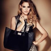 Black Lipsy Faux Fur Tote Bag