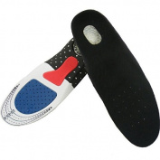 Footful Women's EVA Orthotic Insoles Arch Heel Protection with Cutting Line for Sports Running---UK Size 2.5-5.5