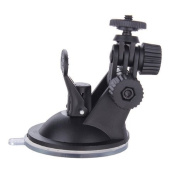 Well-Goal Windshield Car Suction Cup Mount Suction Stand Tripod Holder for Video Camera