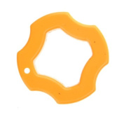 Well-Goal Plastic Tightening Mounting Wrench Knob Nut for GoPro HD Hero 2 / 3 / 3+ - Yellow