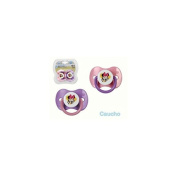 2 pacifiers Minnie. Rubber teat. Kiokids 8918