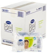 Bel 186470 Premium Cotton Wool Balls with Aloe Vera and Provitamin B5 / 16 Boxes of 70 Items