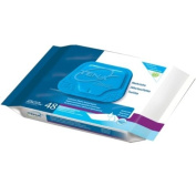 Tena Pre Moist Disposable Wash Cloths for Women, Classic Soft Pack, Model No : 64610 - 48 / Pack