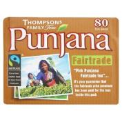 Punjana Fairtrade Teabags 80 per pack